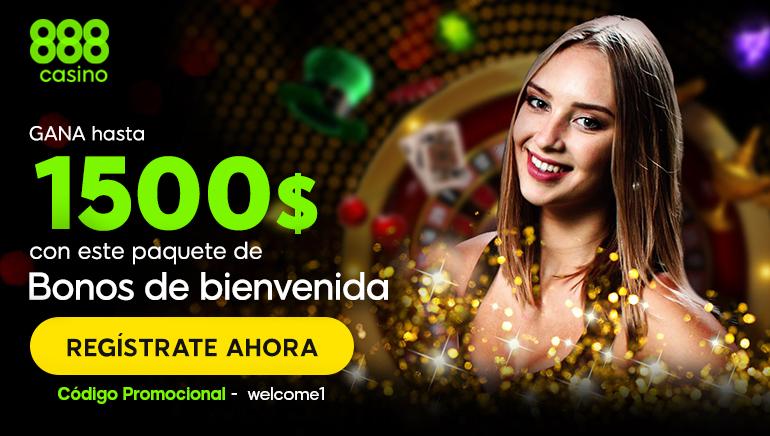 888 Casino regala con el registro 20€ para jugar sin necesidad de depósito a los nuevos miembros de Chile