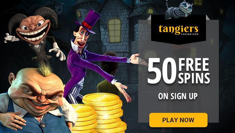50 tiradas gratis en los juegos de Betsoft de Tangiers Casino
