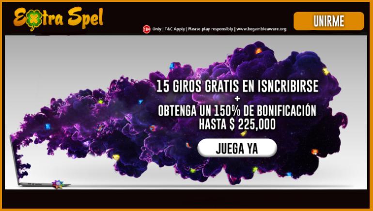 A los jugadores chilenos les espera una sorpresa en forma de dinero y giros gratis en Extraspel Casino