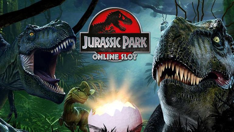 Disfruta de las tragamonedas Jurassic Park en All Slots Casino