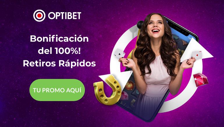 Optibet Casino ofrece un paquete de bienvenida muy lucrativo a sus jugadores chilenos, ¡no te lo pierdas!