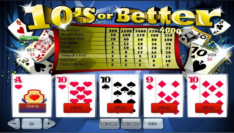 Vídeo póker online